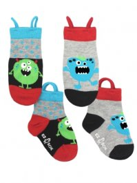 Strumpor EzSox™ Monster, 2-pack