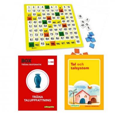 Börja med matte-Kit 0-100 (för en elev)