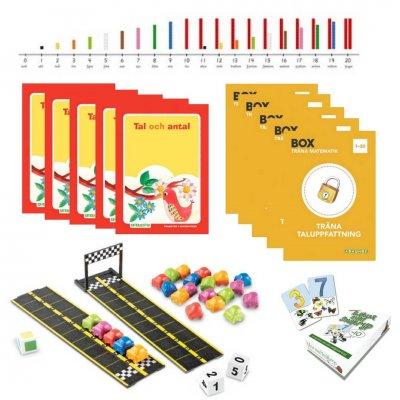 Börja med matte-Kit 0-20 (för fem elever)