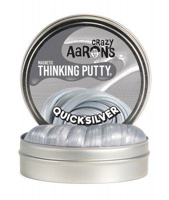 Knådlera Thinking Putty Magnetic - Quicksilver