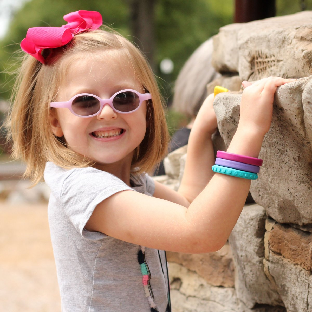 Tuggarmband Brick, liten barn Funkamera se
